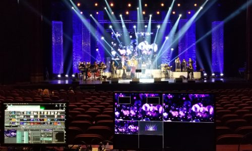 LED wall and video switching by wywprod