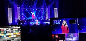 Live Video capture with effects & Mapping Led wall